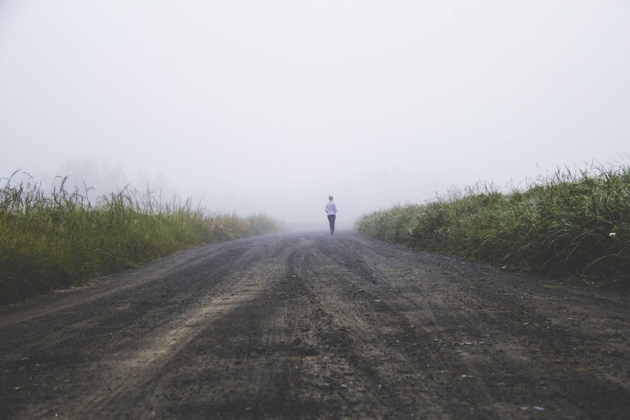 Wading Through Fog