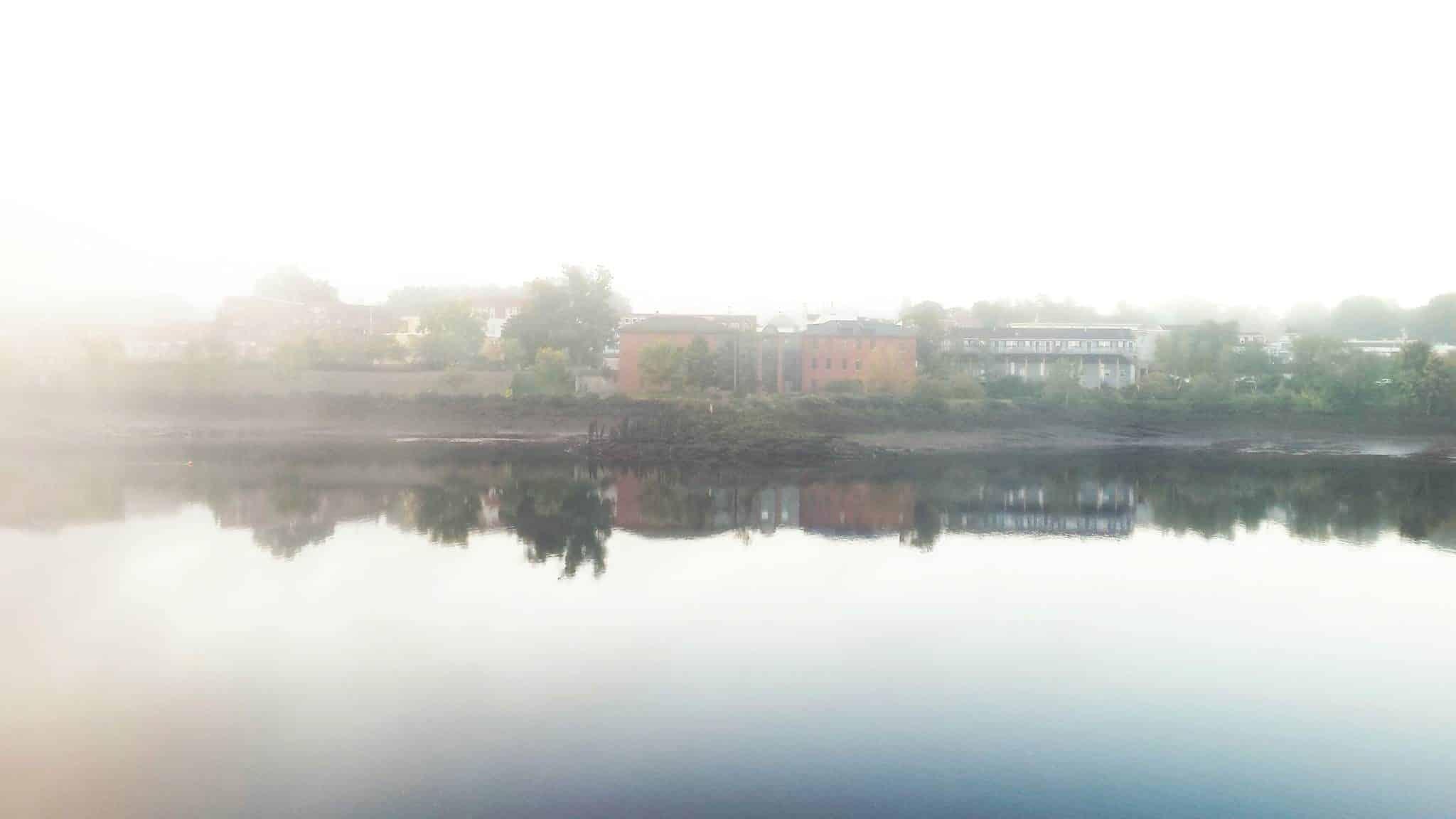 Foggy, but beautiful — a lot like my mind