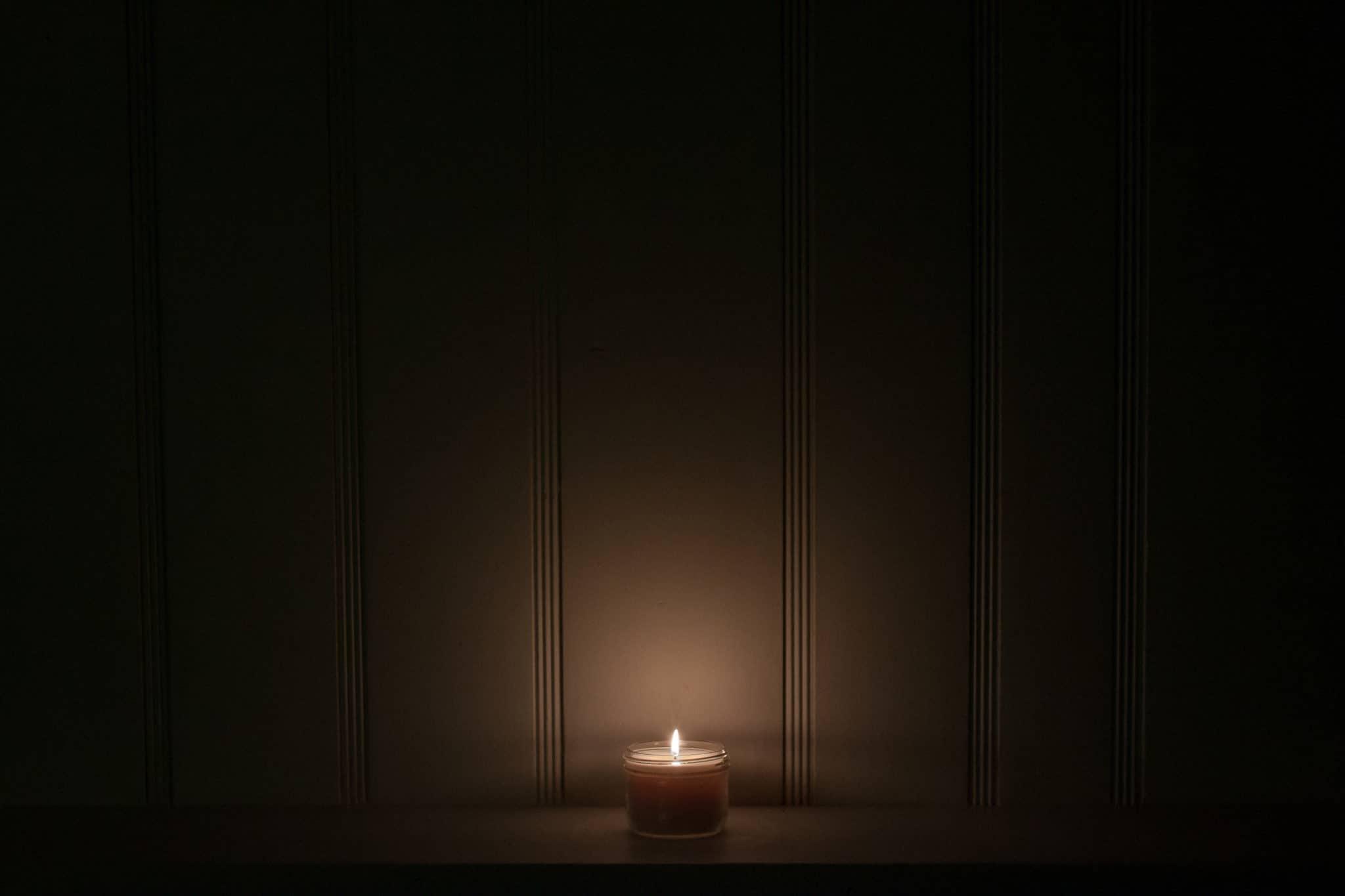 Single Illuminating Flame